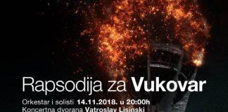 RAPSODIJA ZA VUKOVAR: Veliki hommage Gradu heroju 14. studenoga u Lisinskom