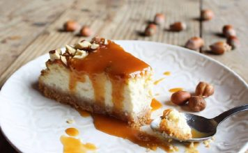 Cheesecake s karamel preljevom