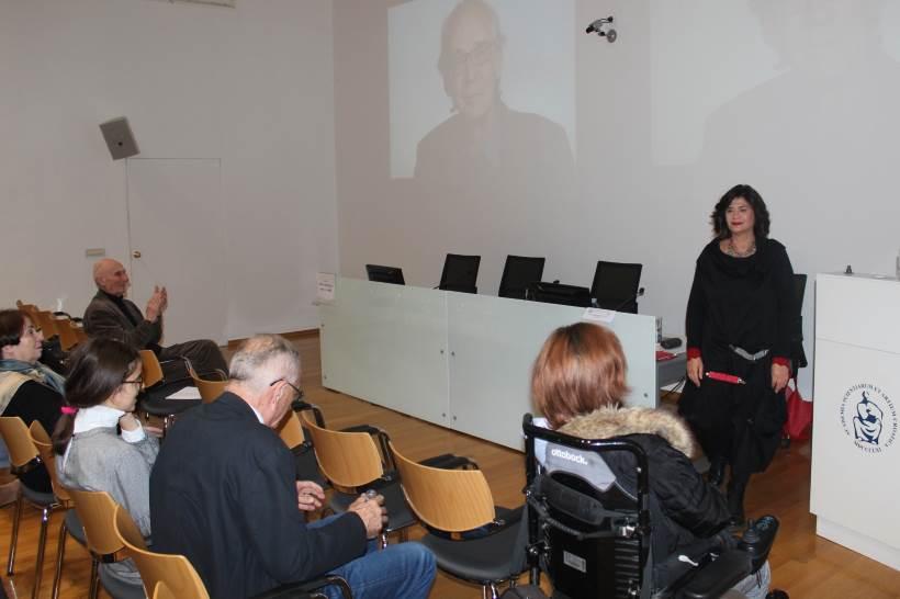 KNJIŽNICA HAZU: Julijana Matanović održala predavanje povodom 81. rođendana Nedjeljka Fabrija