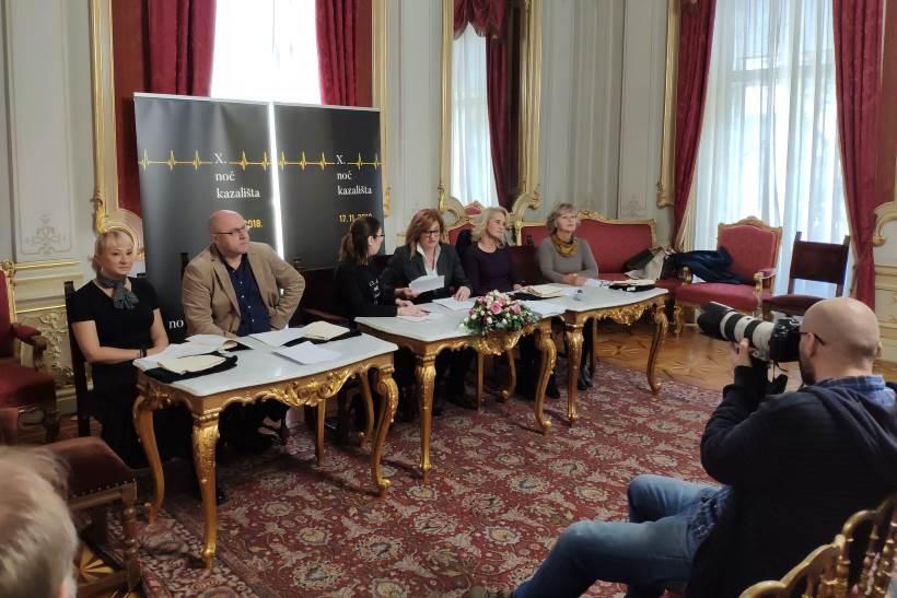 NOĆ KAZALIŠTA: U palači Dverce predstavljeno 10. izdanje ove kulturne manifestacije