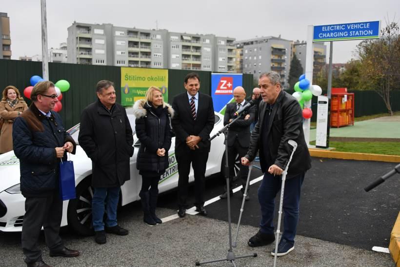 U Zagrebu otvorena još jedna punionica za električne automobile