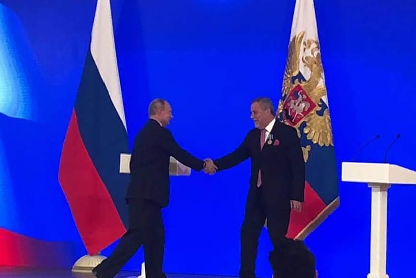 Vladimir Putin uručio Milanu Bandiću visoko rusko odlikovanje