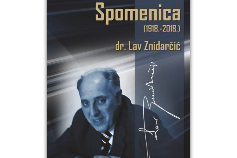 U Matici hrvatskoj održat će se promocija knjige o životu dr. Lava Znidarčića