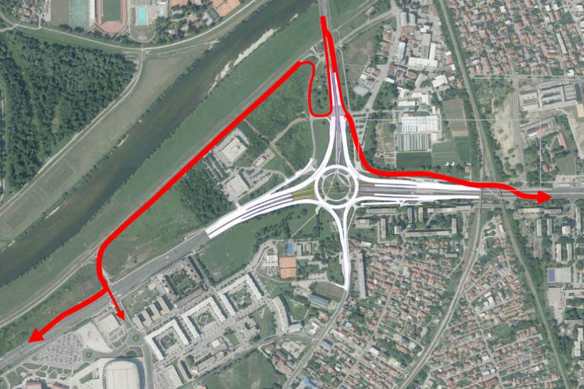 ROTOR SE ZATVARA OD NEDJELJE: Donosimo detaljan plan nove regulacije prometa