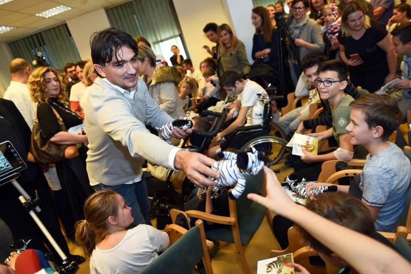 Zlatko Dalić predstavio slikovnicu o zebri koja boluje od spinalne mišiće atrofije