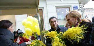 Na Cvjetnom trgu obilježen Dan mimoza i Nacionalni dan borbe protiv raka maternice
