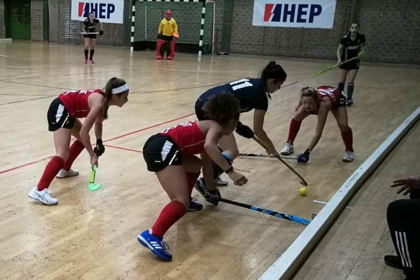 CROATIA INDOOR CUP: Završnica serije Hrvatska - Amerika u dvoranskom hokeju  za žene.