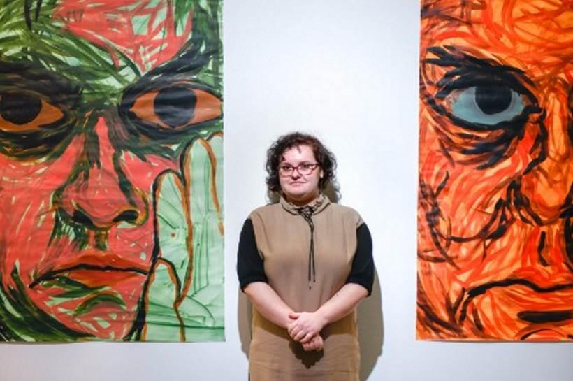 'SAMA': U galeriji Kranjčar svečano otvorena izložba umjetnice Marije Matić