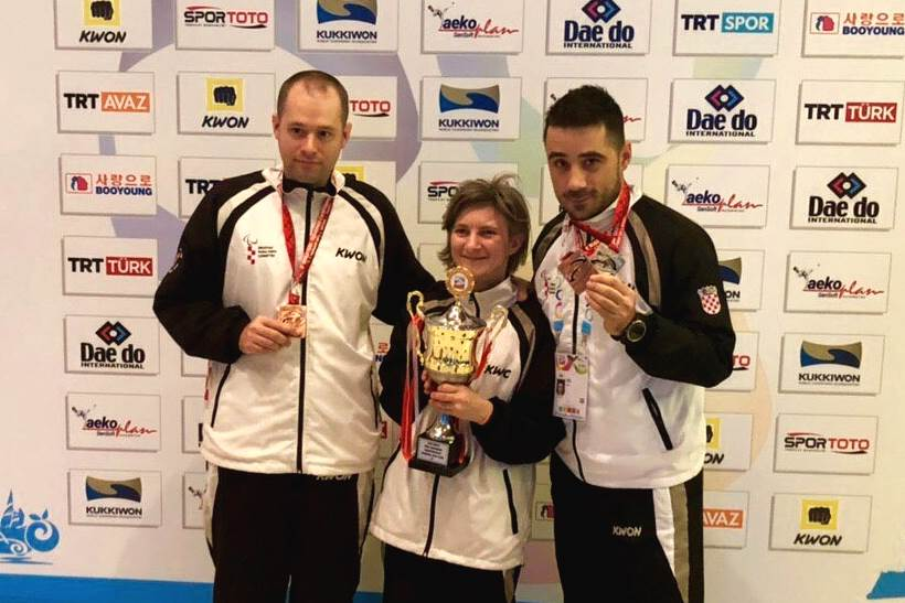 Hrvatski para taekwondo ostvario sjajan uspjeh na Svjetskom prvenstvu