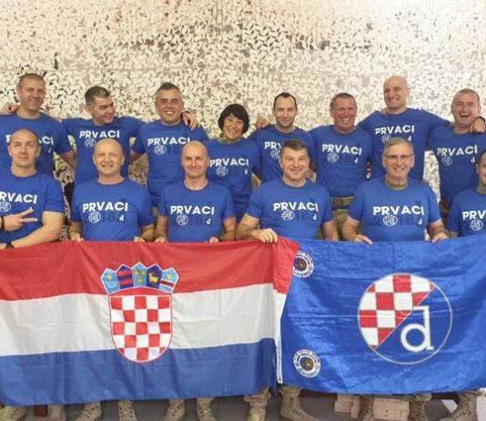 'Ajmo Dinamooooo!' Hrvatski vojnici iz Afganistana poslali poruku podrške svom klubu