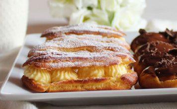 EKLERI S KREMOM OD VANILIJE: Omiljena slastica iz francuske kuhinje!