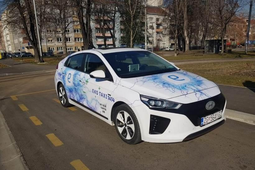 EKOLOŠKI PRIJEVOZ: Na ulice Zagreba stigao prvi taxi na električni pogon!
