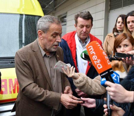 Klinici za infektivne bolesti Dr. Fran Mihaljević predano novo sanitetsko vozilo