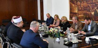Gradonačelnik Bandić sastao se s muftijom Azizom ef. Hasanovićem
