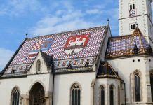 ŽIVOPISNI KROV CRKVE SVETOG MARKA: Najčešći fotografirani motiv grada Zagreba