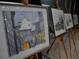 ZAGREBU S LJUBAVLJU:Otvorena izložba makedonskog slikaraNikole Grozdanovskog Kolea