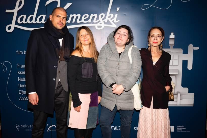 Svečana premijera filma 'Lada Kamenski' privukla brojna poznata lica