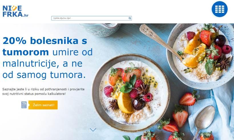 PROJEKT nijeFRKA.hr: Prvi put na jednom mjestu sve o prehrani onkoloških bolesnika