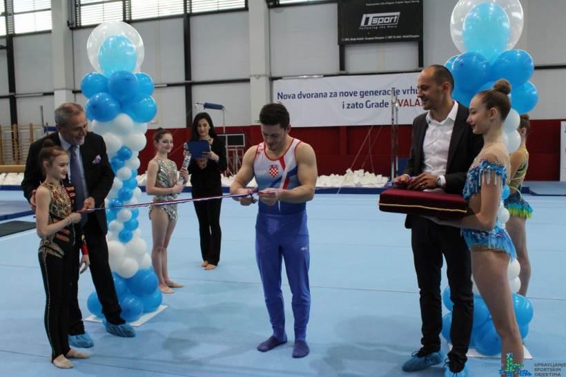 Zagreb napokon dobio gimnastičku dvoranu, na otvorenju više od 50 zagrebačkih sportaša
