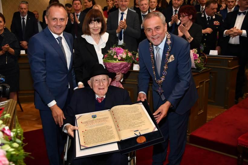 Oskarovac Branko Lustig počasni građanin Zagreba, Jasna Kovačević Zagrepčanka godine