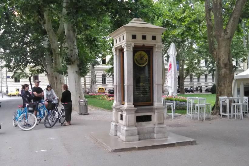 Park Zrinjevac - Meteorološki stup