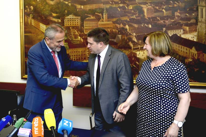 DANAS POTPISAN UGOVOR: Uskoro kreće modernizacija 8.194 metra tramvajske pruge u Zagrebu