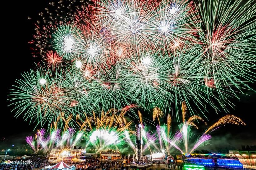 SPEKTAKL NA BUNDEKU: Finalna večer Međunarodnog festivala vatrometa prebačena za srijedu