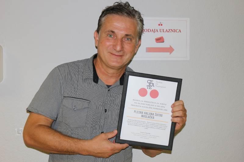 Dodijeljene nagrade publike za najbolju predstavu Kazališnoga ponedjeljka Teatra na Trešnjevci