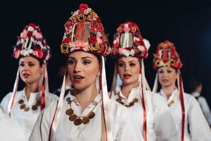 Svečani koncert ansambla Lado na Trgu kralja Tomislava, u povodu Dana državnosti