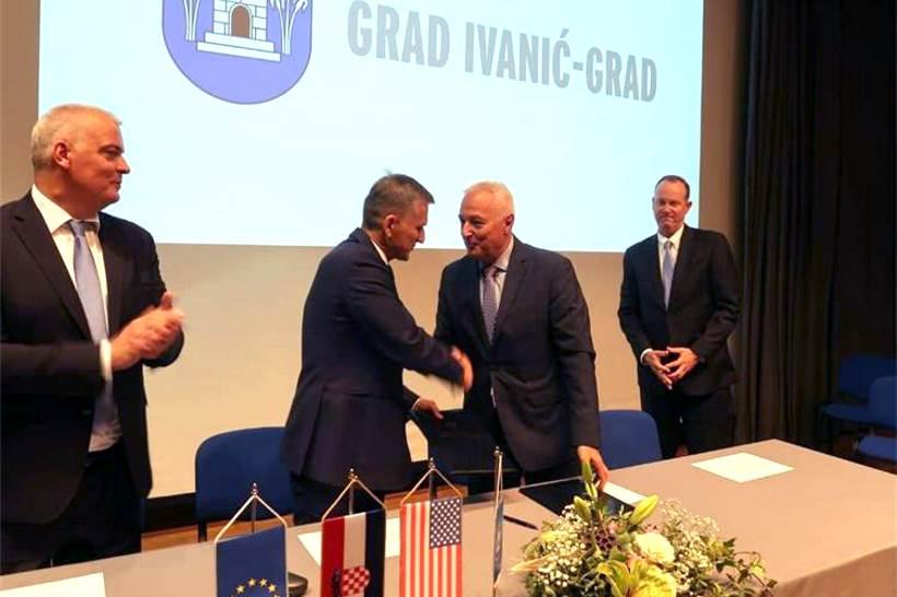 Američka grupacija ulaže pet milijuna eura u Ivanić-Gradu, grade tvornicu u kojoj će se zaposliti 200 radnika