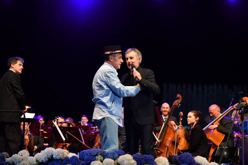 Koncertom Miroslava Škore na fontanama završen program proslave Dana grada