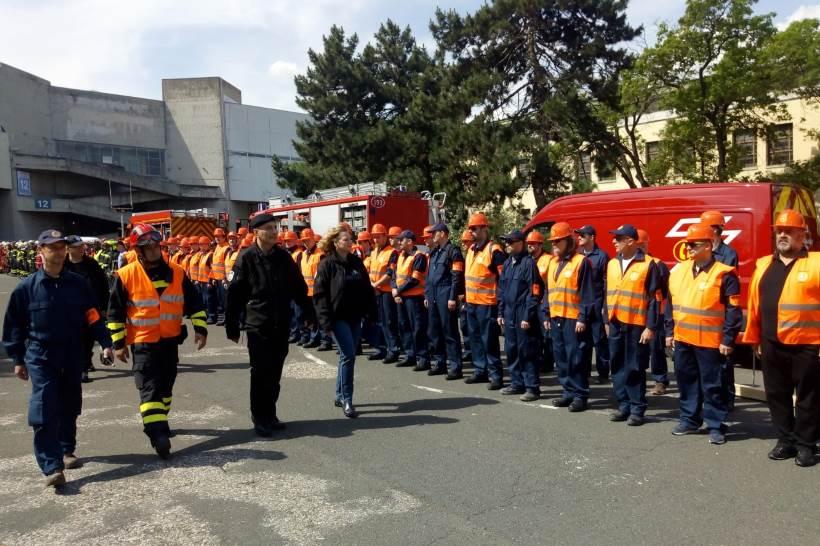 Gradske službe, civilna zaštita i policija uvježbavali spašavanje u slučaju jakog potresa