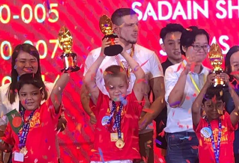 Osmogodišnji Patrik Čudić iz Zagreba ponovno osvojio zlato na Svjetskom natjecanju iz mentalne aritmetike!