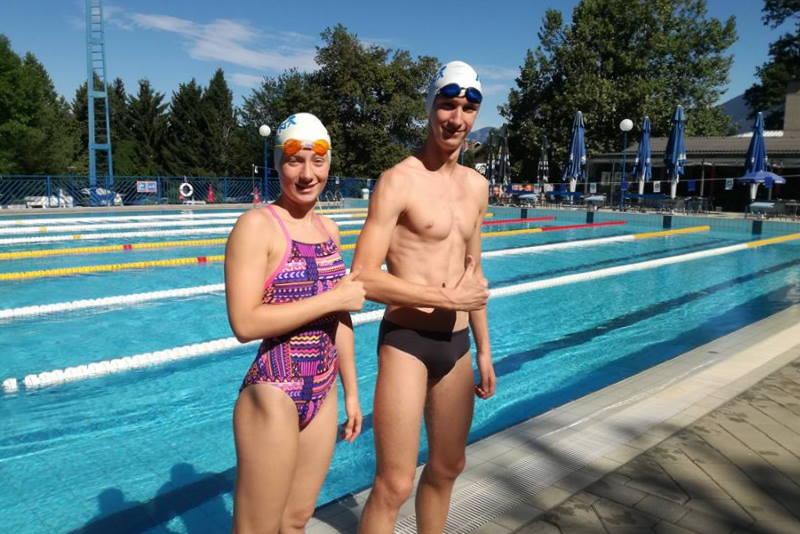 Natali i Antonio Žgomba predstavljat će Hrvatsku na Svjetskom prvenstvu u plivanju za gluhe