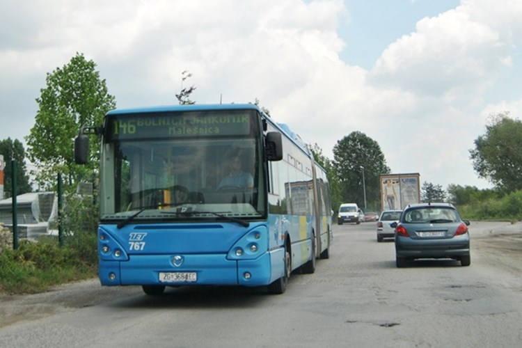 Autobusna linija 146 (Reljkovićeva - Jankomir) od četvrtka vozi izmijenjenom trasom