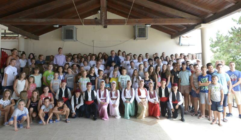 Bandić posjetio djecu i mlade iz Sarajeva i Vukovara koji ljetuju u organizaciji Grada Zagreba