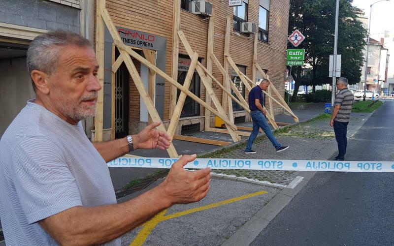 Bandić obišao zgradu u Kranjčevićevoj, zbog opasnosti od rušenja zatvoren dio Adžijine
