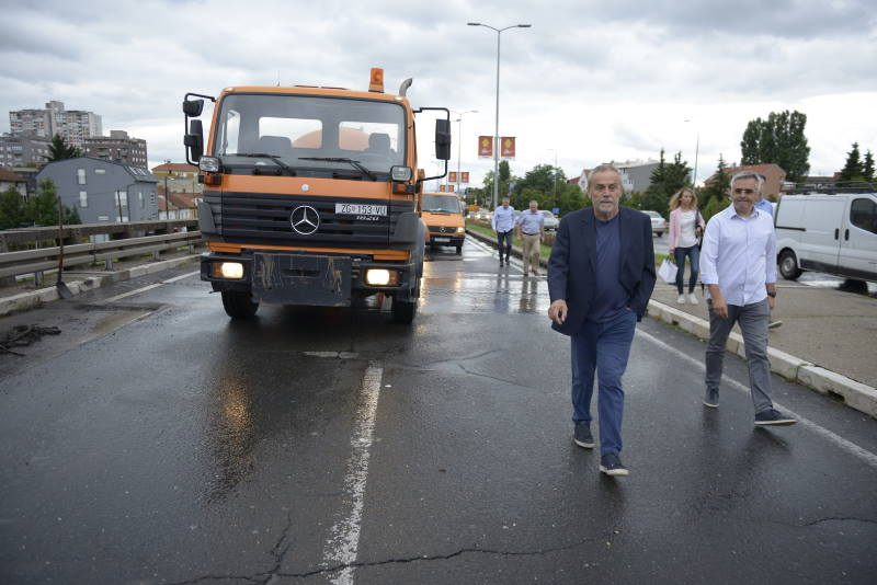 OBNOVA ULICA: Vukovarska puštena u promet, započeli radovi na nadvožnjaku iznad Selske