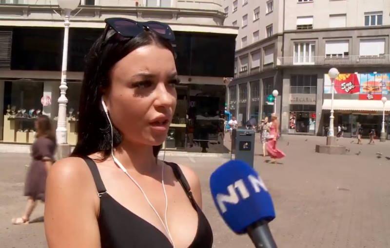 """VIDEO: """"Zaposlila bih se u državnoj firmi, kod svoga Bandića!"""" Mlada Zagrepčanka pravi je hit na internetu"""