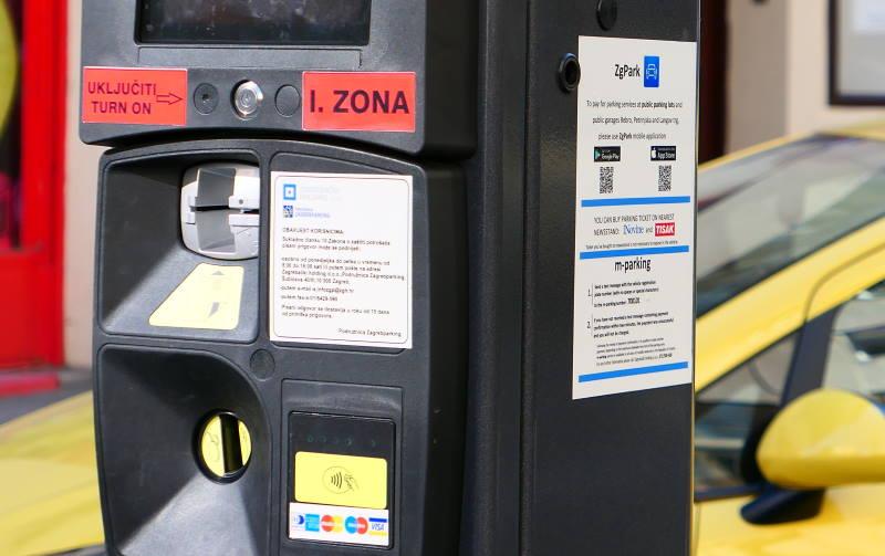 Parkiranje - naplata parkiranja - prva zona