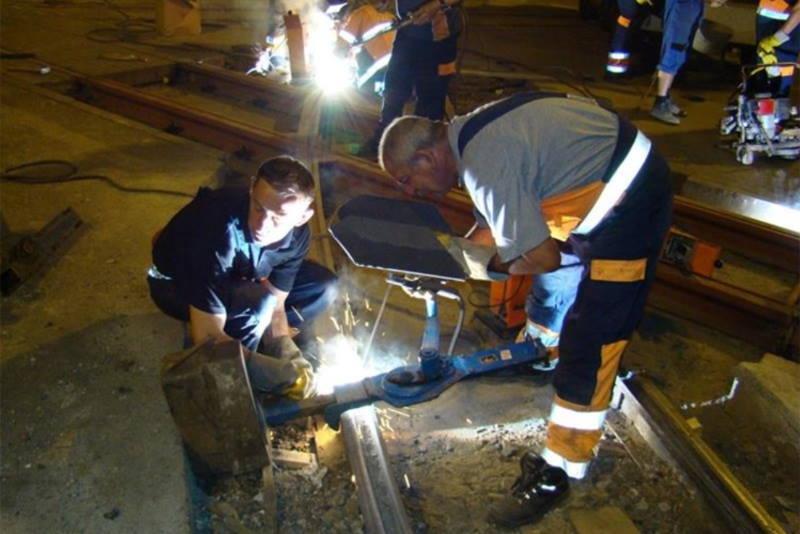Tramvajska pruga - rekonstrukcija - radovi