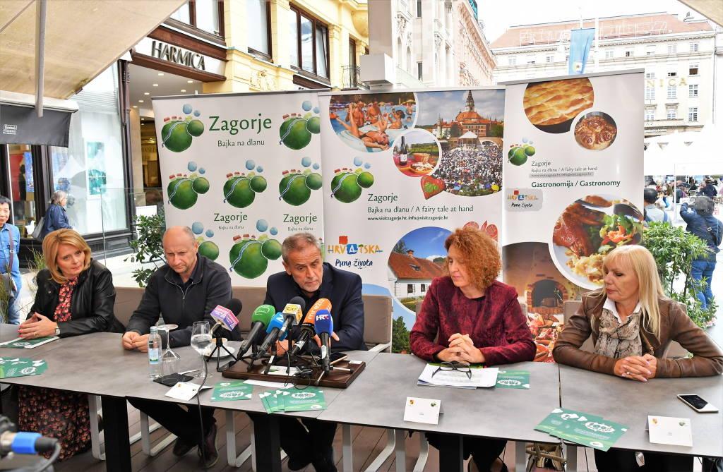 Manifestacija 100 % zagorsko na središnji zagrebački trg donosi zvukove i jela zagorske tradicije