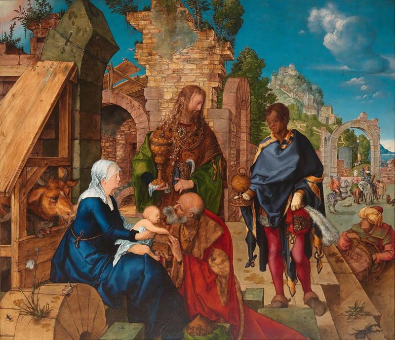 Albrecht Dürer: Poklonstvo kraljeva