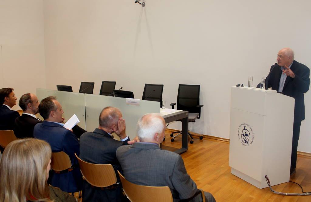 Dr. Joseph Schlessinger, najcitiraniji živući znanstvenik rođen u Hrvatskoj, održao predavanje u HAZU
