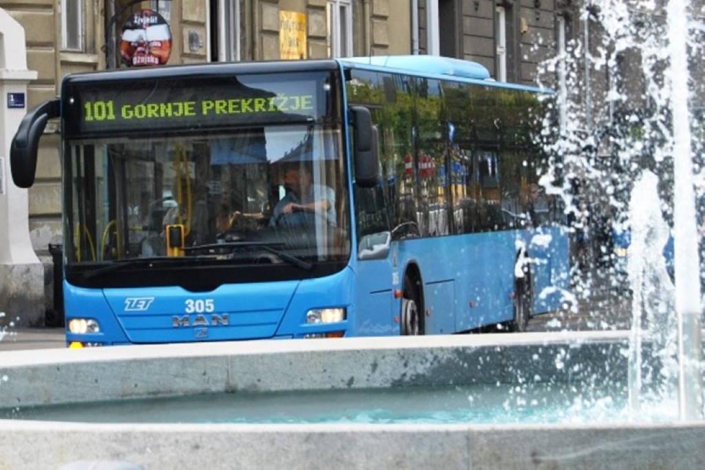 ZET - autobus- autobusna linija 101