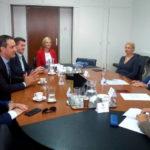 Gradonačelnik Bandić primio izaslanstvo HKD Napredak predvođeno predsjednikom Nikolom Čičom