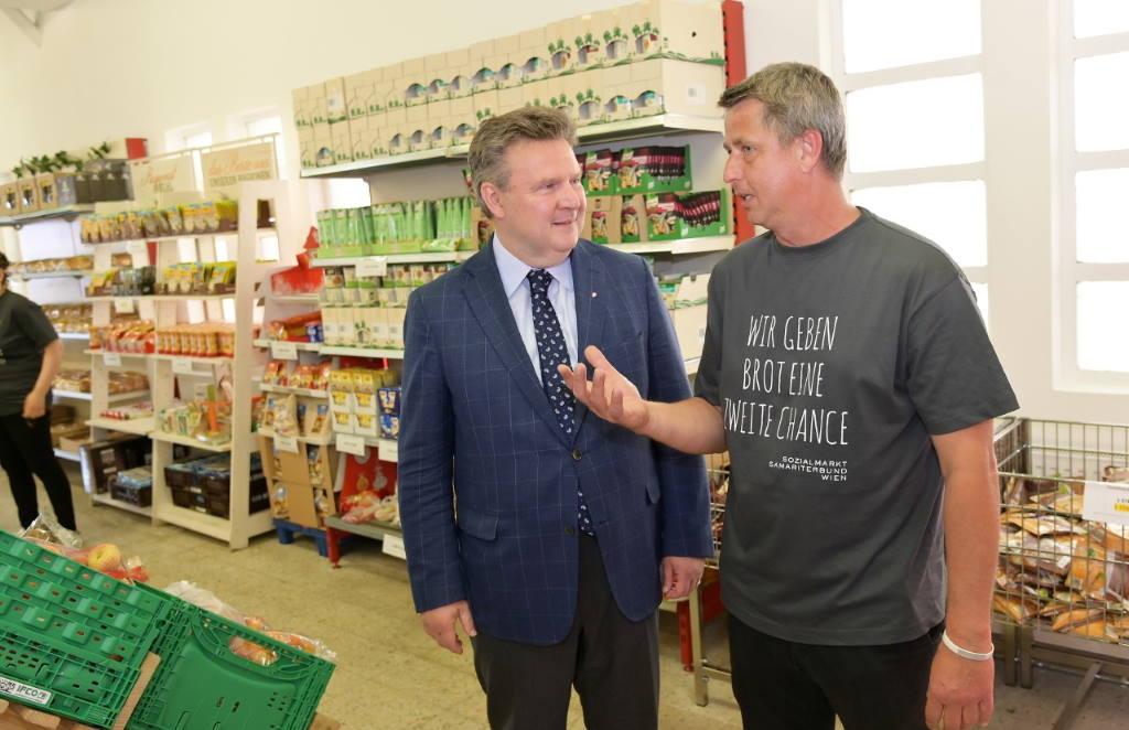 Beč dobio prvi socijalni supermarket smješten u trgovačkom centru