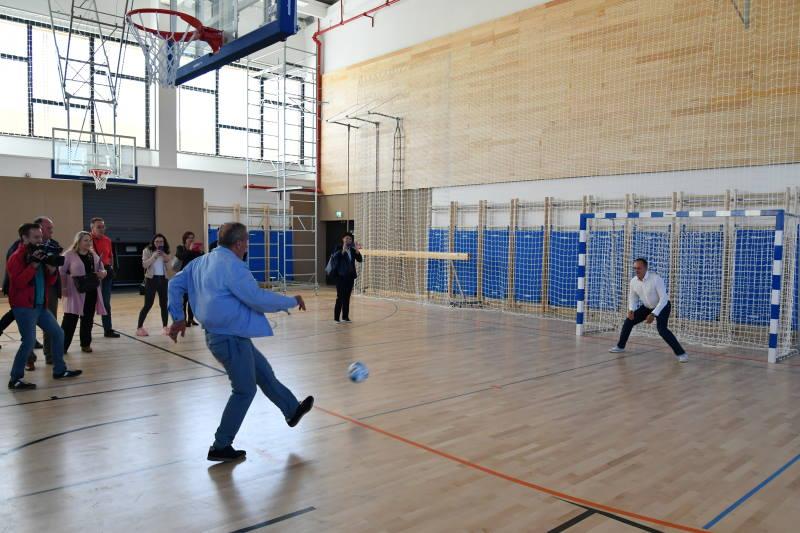 SVEČANOST U DUBRAVI: Osnovna škola Granešina napokon dobila novu sportsku dvoranu