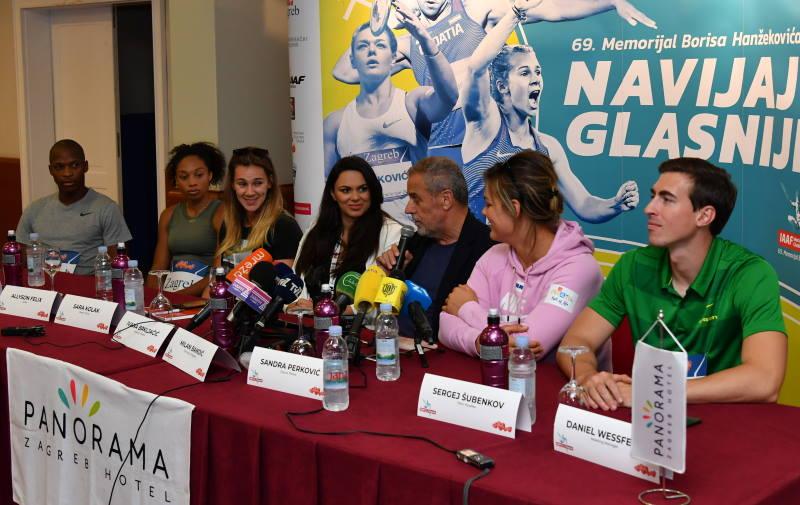 POČINJE 'HANŽEK': Atletske zvijezde najavile spektakl na Savi