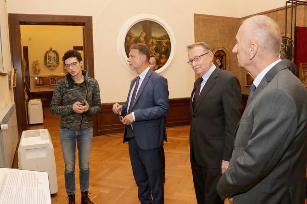 Predsjednik Sabora Goran Jandroković posjetio Hrvatsku akademiju znanosti i umjetnosti
